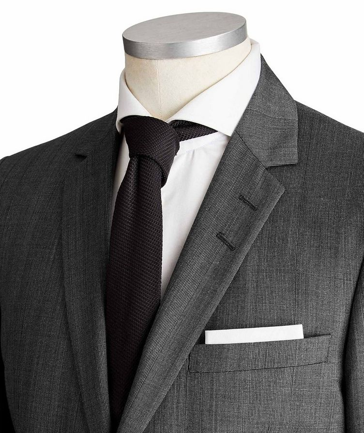 Slim Fit Wool Suit image 1