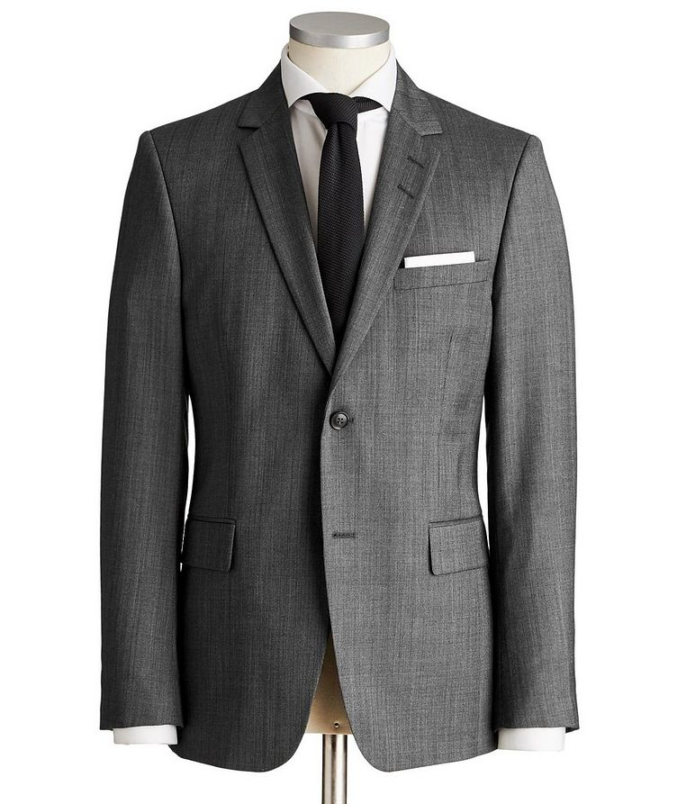 Slim Fit Wool Suit image 0