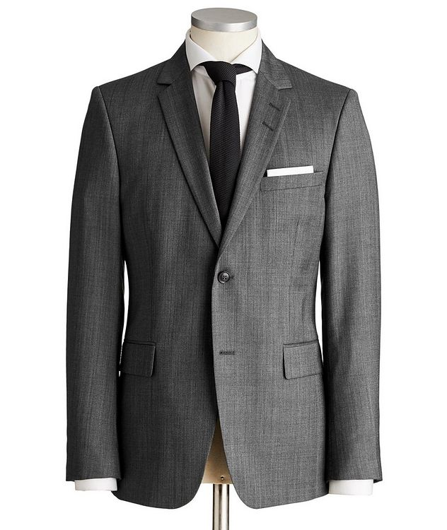 Slim Fit Wool Suit picture 1