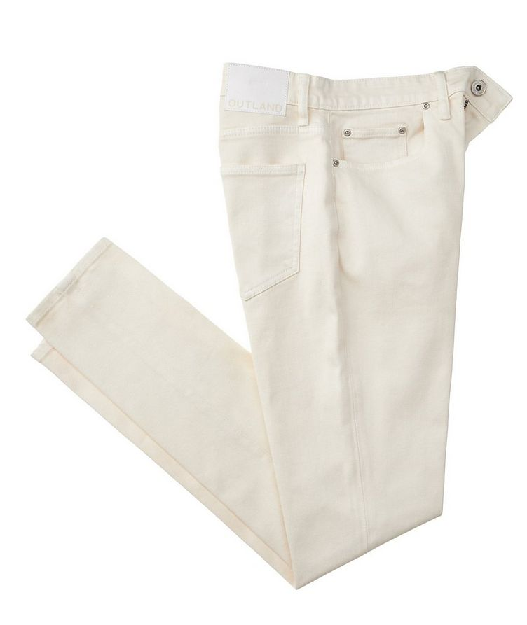 Dusty Slim Fit Organic Stretch-Cotton Jeans image 0