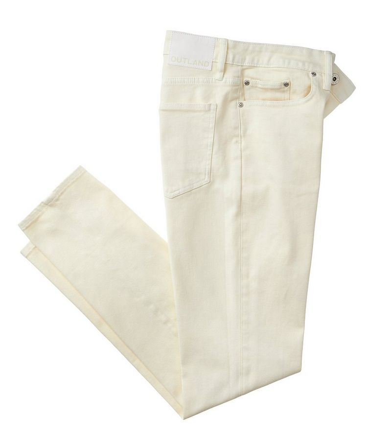 Cooper Slim Fit Organic Stretch-Cotton Jeans image 0