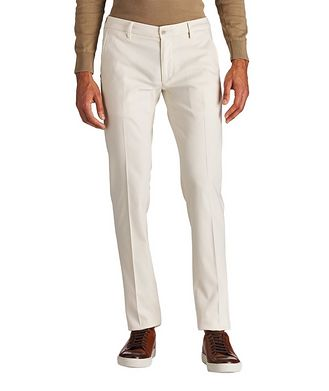 Re-HasH Canaletto Stretch-Cotton Chinos