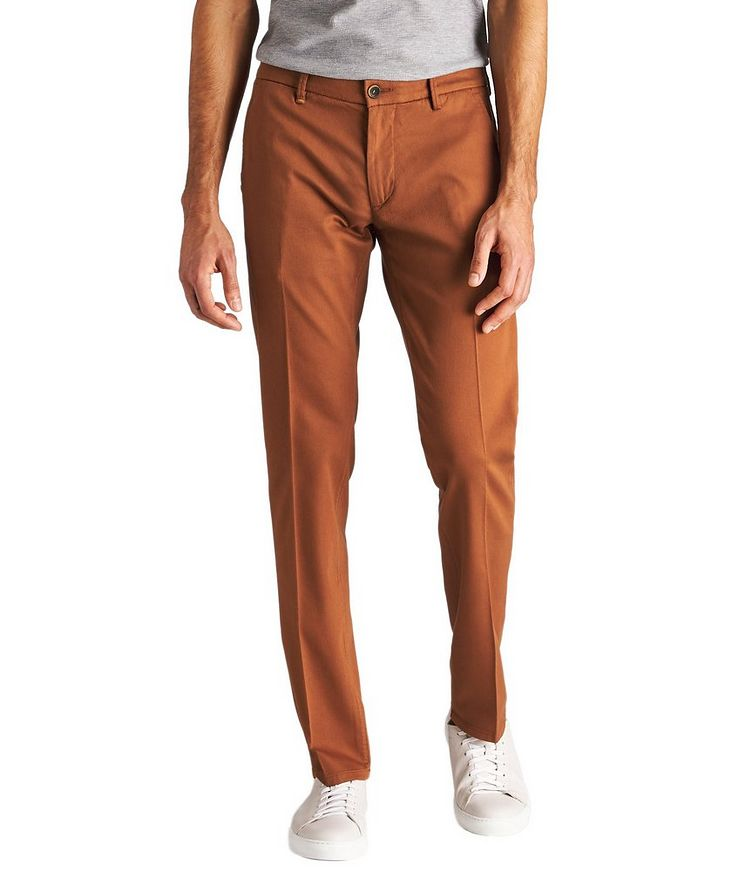 Canaletto Stretch-Cotton Chinos image 0