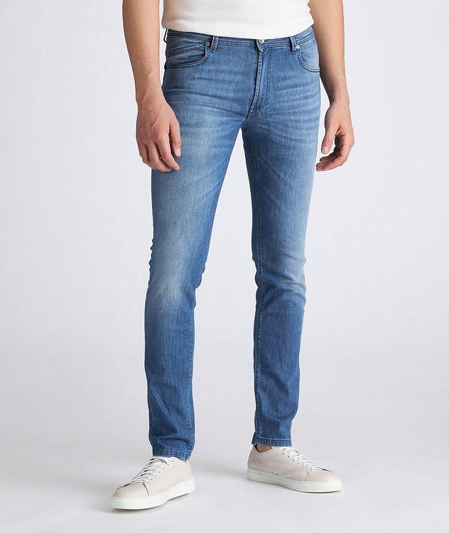 Hopper Stretch-Cotton Jeans picture 2