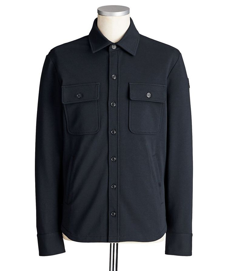 Stretch-Cotton Overshirt image 0