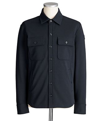 Moncler Stretch-Cotton Overshirt