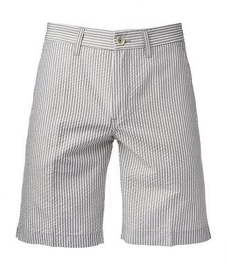 Re-HasH Striped Cotton-Blend Shorts