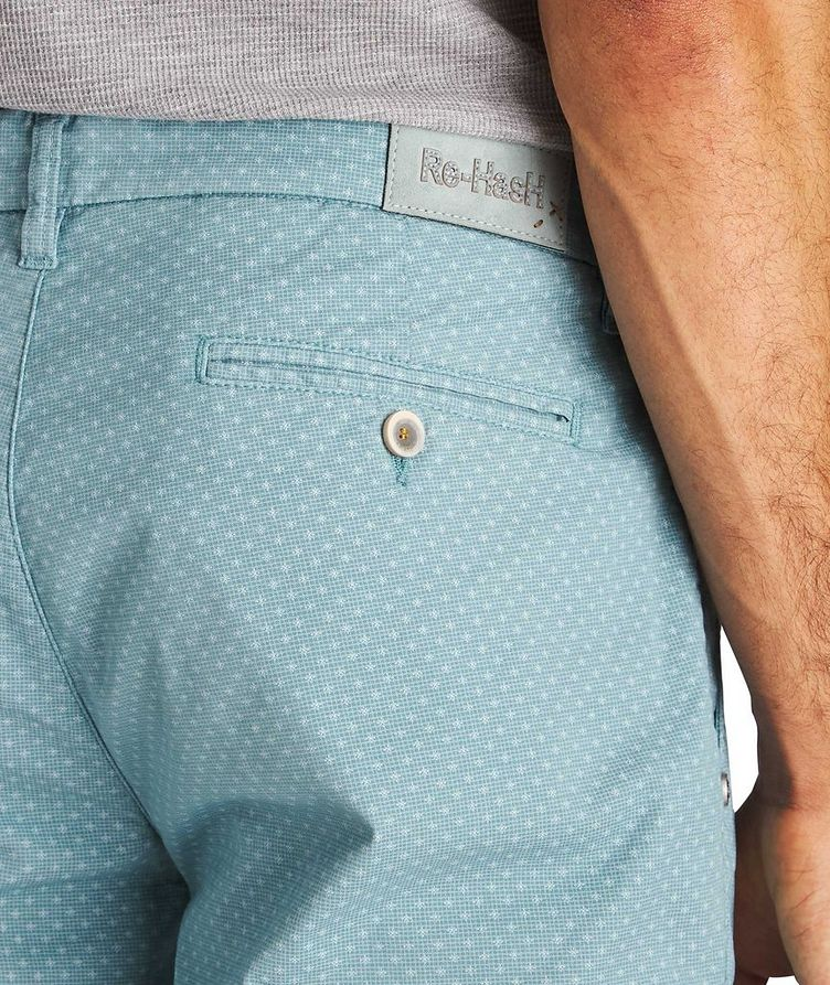 Printed Stretch-Cotton Shorts image 2