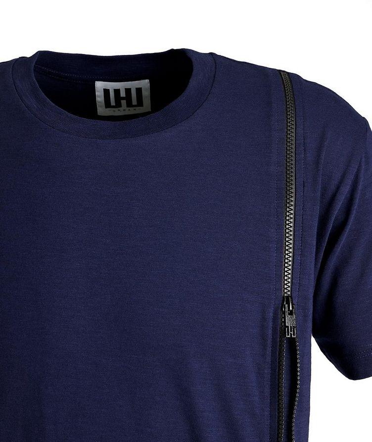 Textured Cotton T-Shirt image 1