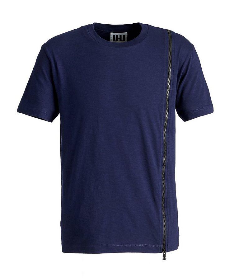 Textured Cotton T-Shirt image 0