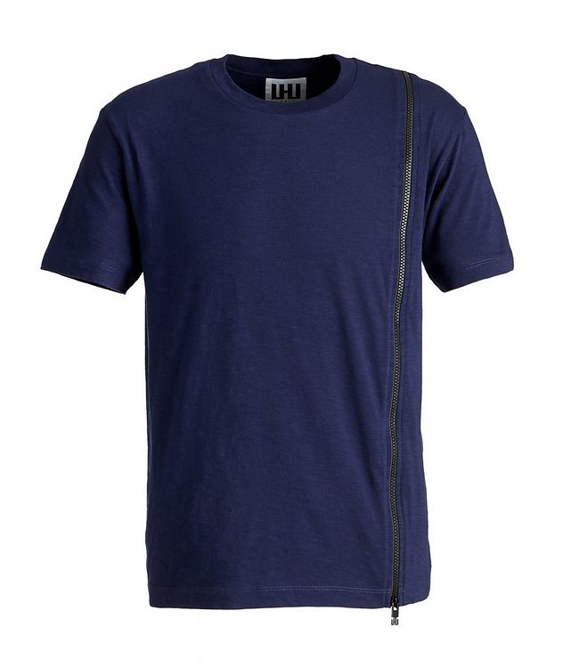Textured Cotton T-Shirt picture 1