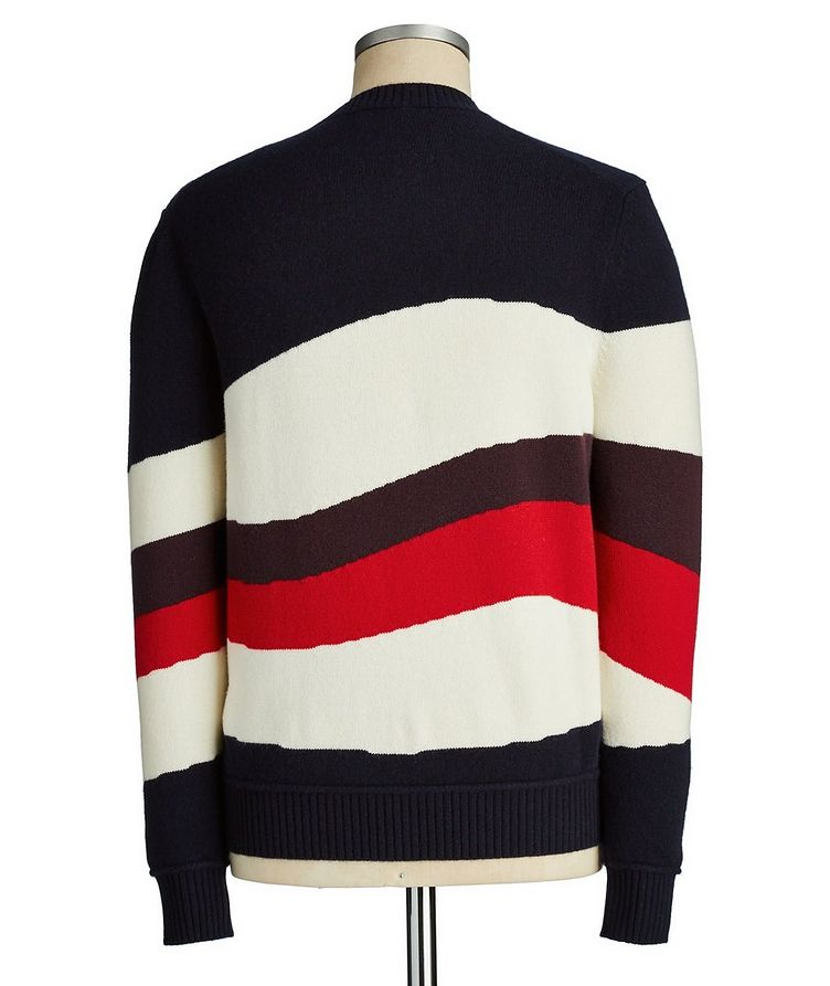 Striped Wool-Cashmere Sweater image 1