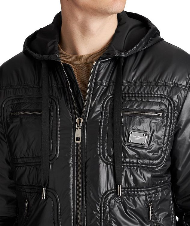 Hooded Bomber Jacket picture 3