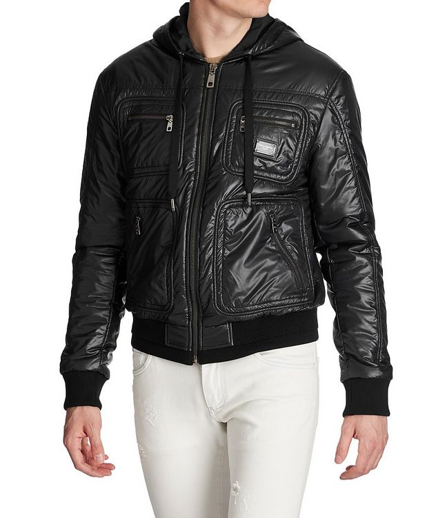 Hooded Bomber Jacket picture 1