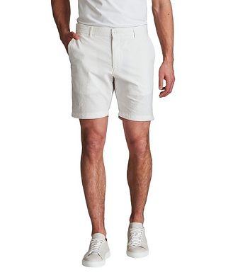 Ballin True Khaki Seersucker Shorts