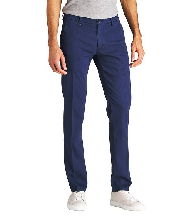 Canaletto Stretch-Cotton Chinos picture 1