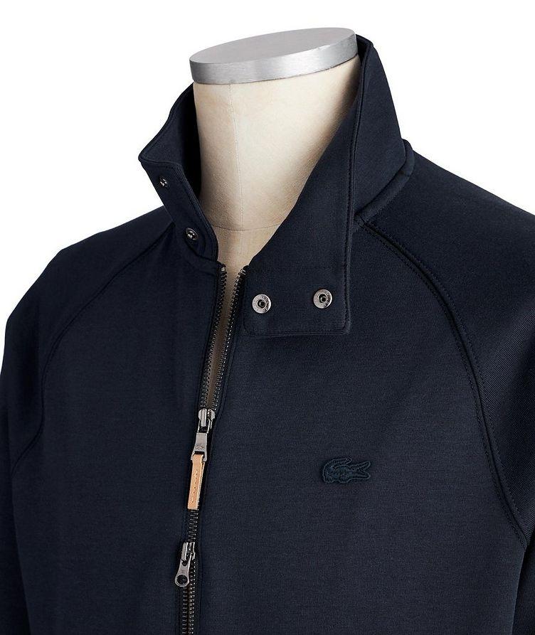 Cotton-Silk Blend Track Jacket image 1