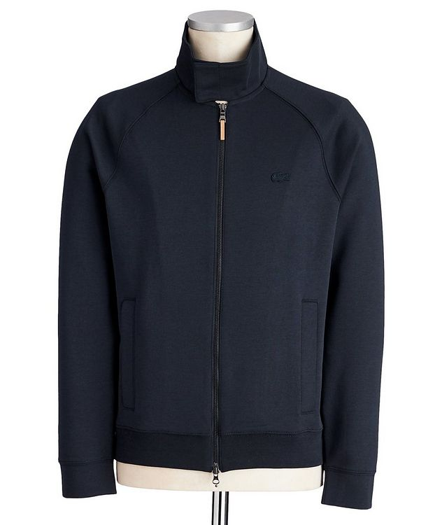 Cotton-Silk Blend Track Jacket picture 1