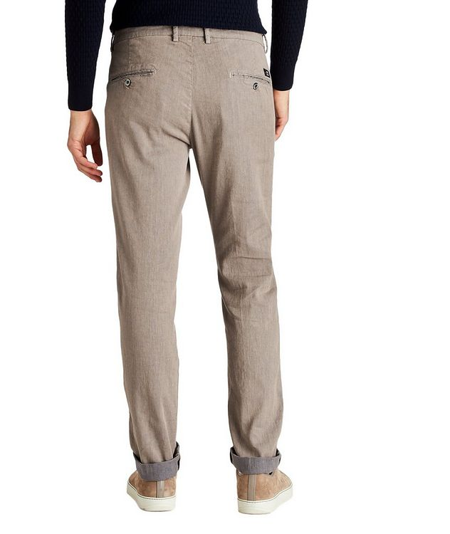 Stretch Linen-Cotton Chinos picture 2