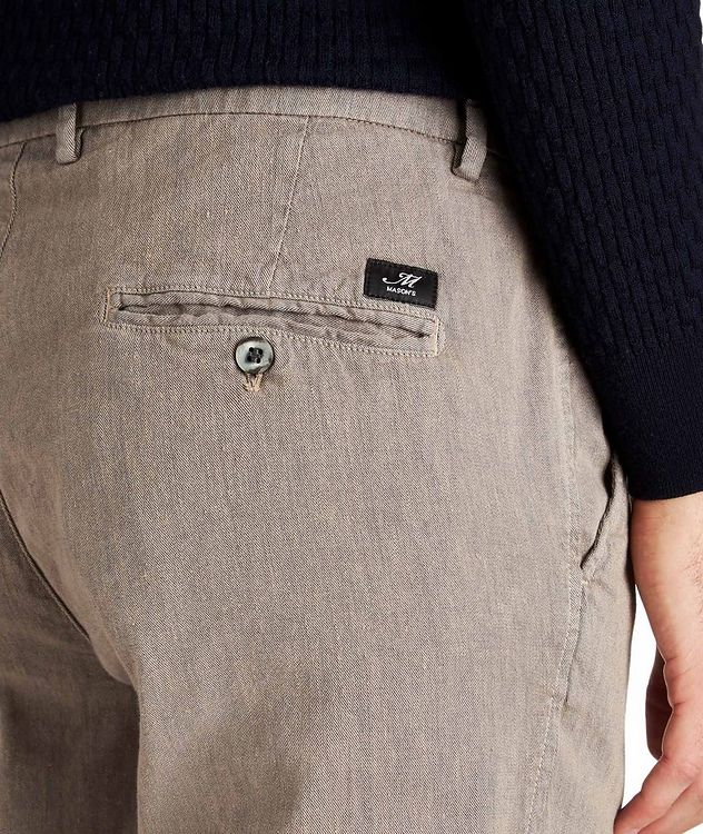 Stretch Linen-Cotton Chinos picture 3