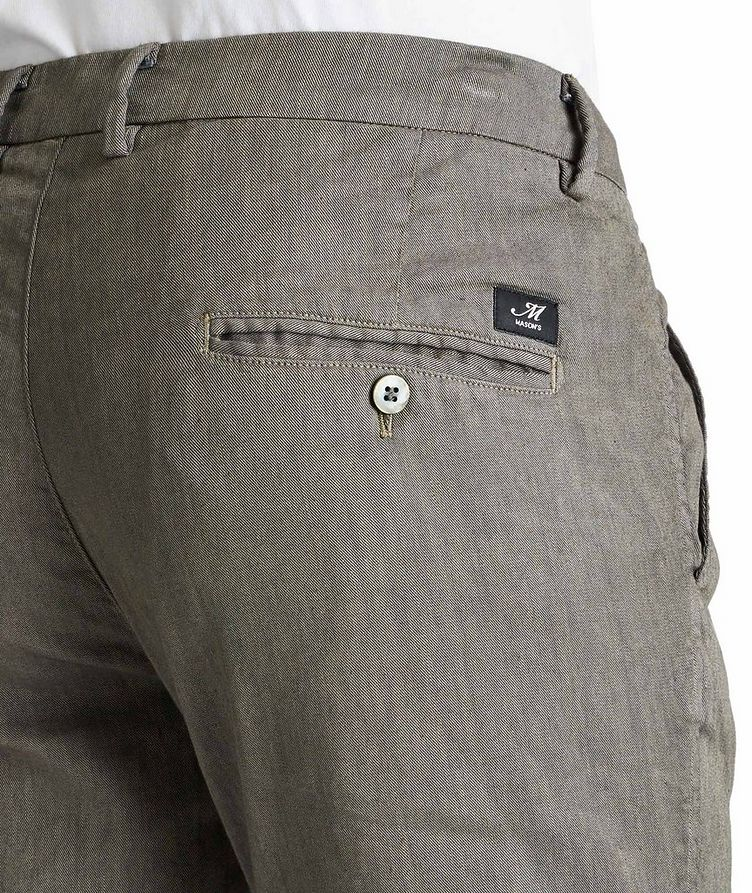 Stretch Linen-Cotton Chinos image 2