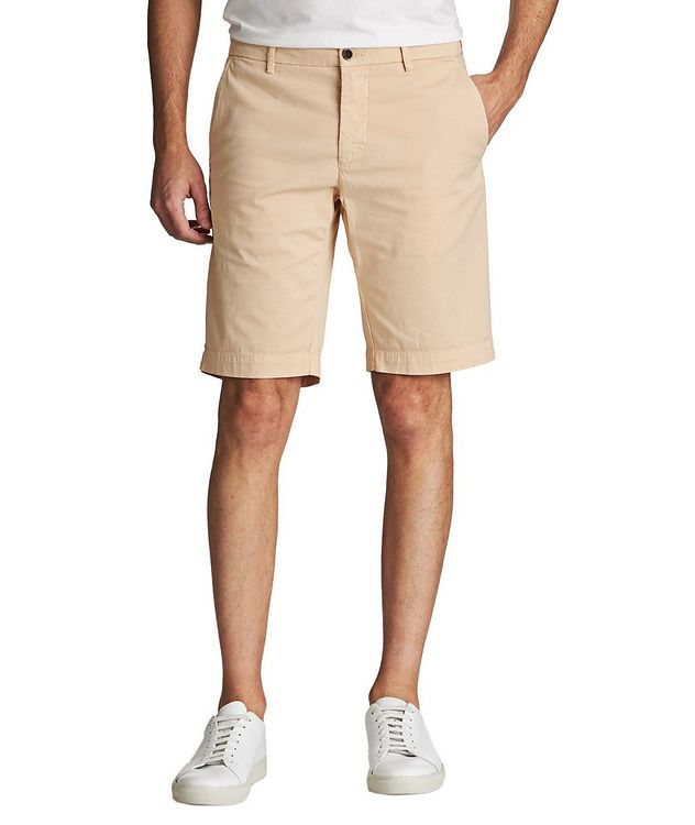 Stretch-Cotton Bermuda Shorts picture 1
