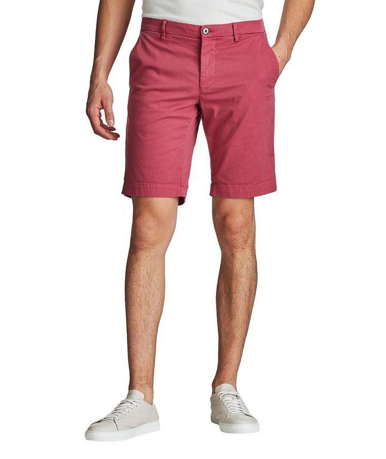 Stretch-Cotton Bermuda Shorts image 0