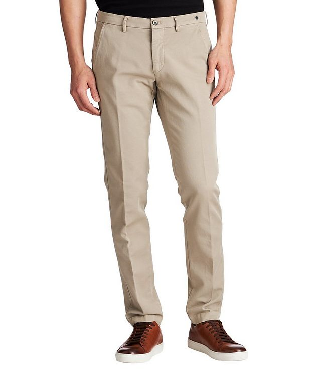 Slim Fit Golf Stretch-Cotton Chinos picture 1