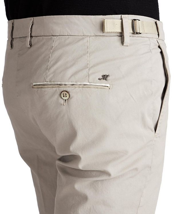 Slim Fit Stretch Cotton Chinos picture 3