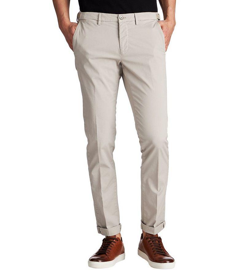 Slim Fit Stretch Cotton Chinos image 0