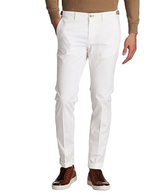Mason's Slim Fit Stretch-Cotton Chinos