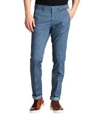 Mason's Slim Fit Stretch-Cotton Chinos