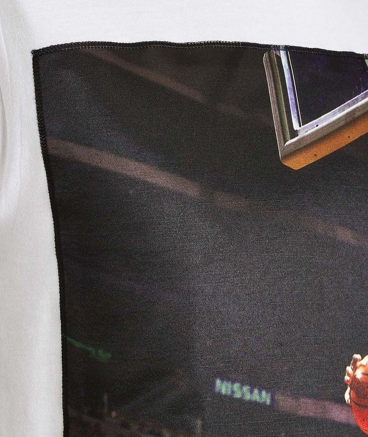 Dennis Rodman Jump Printed Cotton T-Shirt image 1