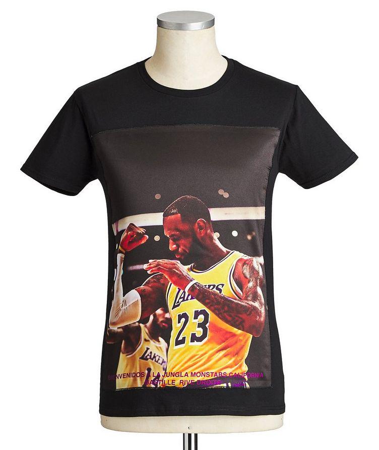 LeBron James Printed Cotton T-Shirt image 0