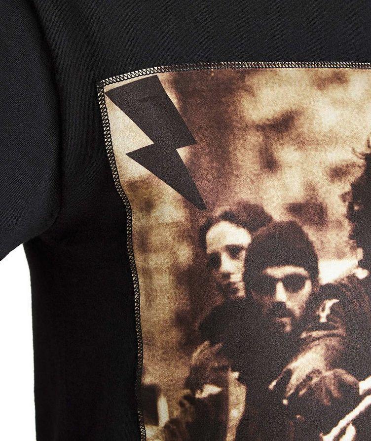Motorcycle club Printed Cotton T-Shirt image 1
