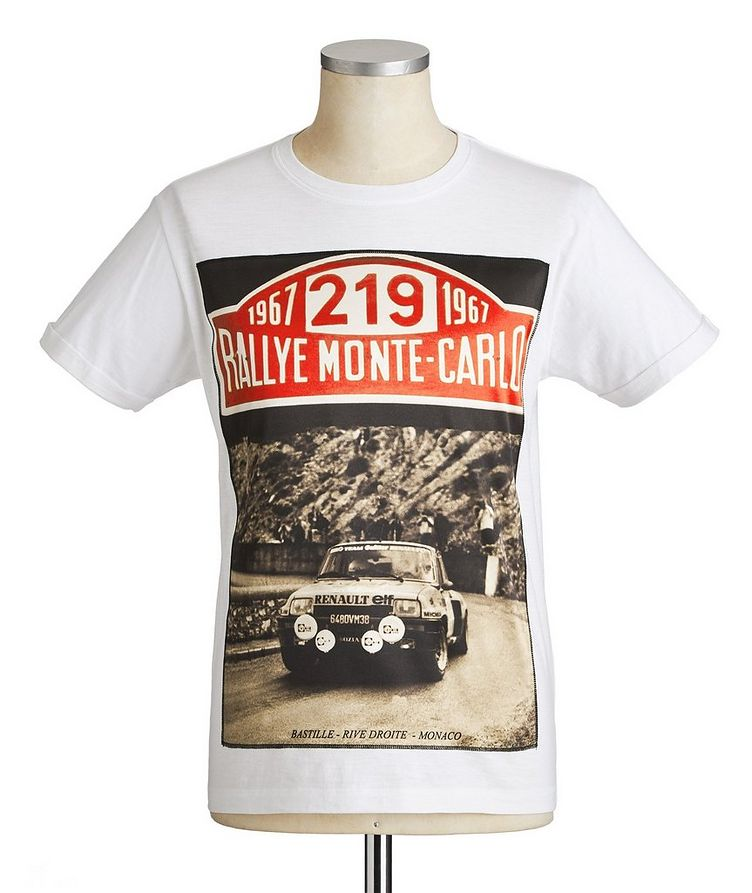 1967 Monte Carlo Car Printed Cotton T-Shirt image 0