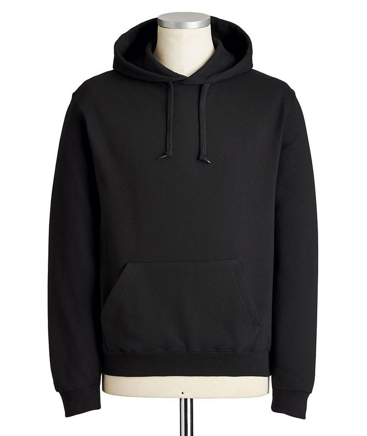 From Paris With Love Silk-printed Cotton Hoodie image 0