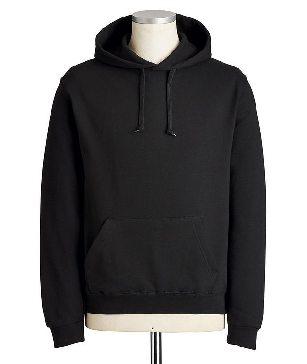 From Paris With Love Silk-printed Cotton Hoodie picture 1
