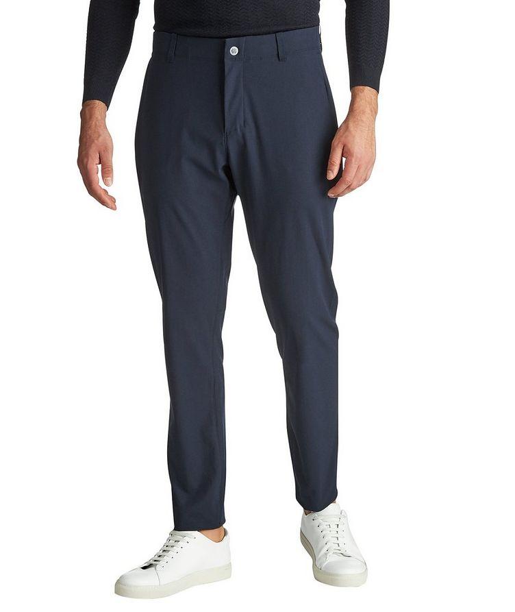 Pantalon en tissu extensible image 0