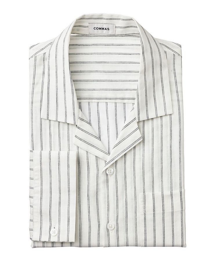 Striped Linen Shirt image 0