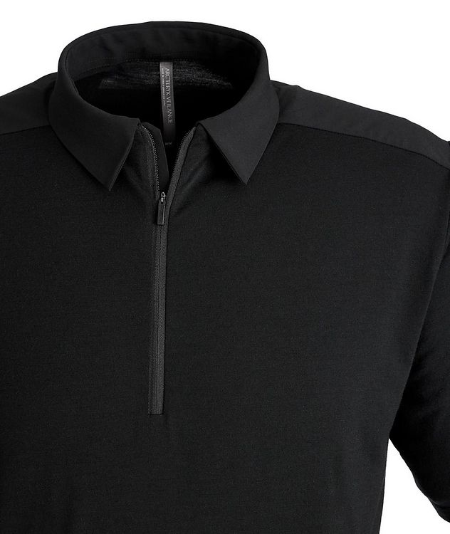 Half-Zip Wool Polo picture 2