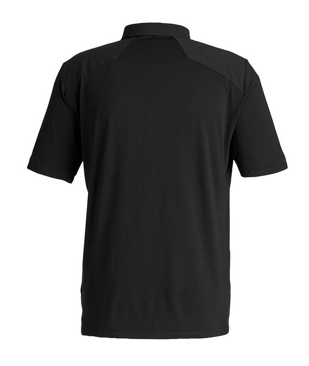 Half-Zip Wool Polo picture 3