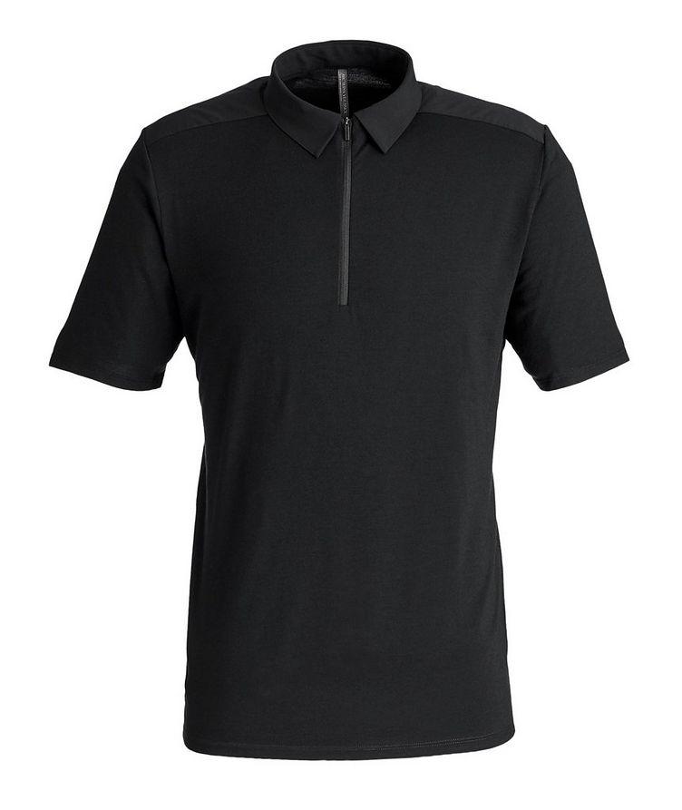 Half-Zip Wool Polo image 0