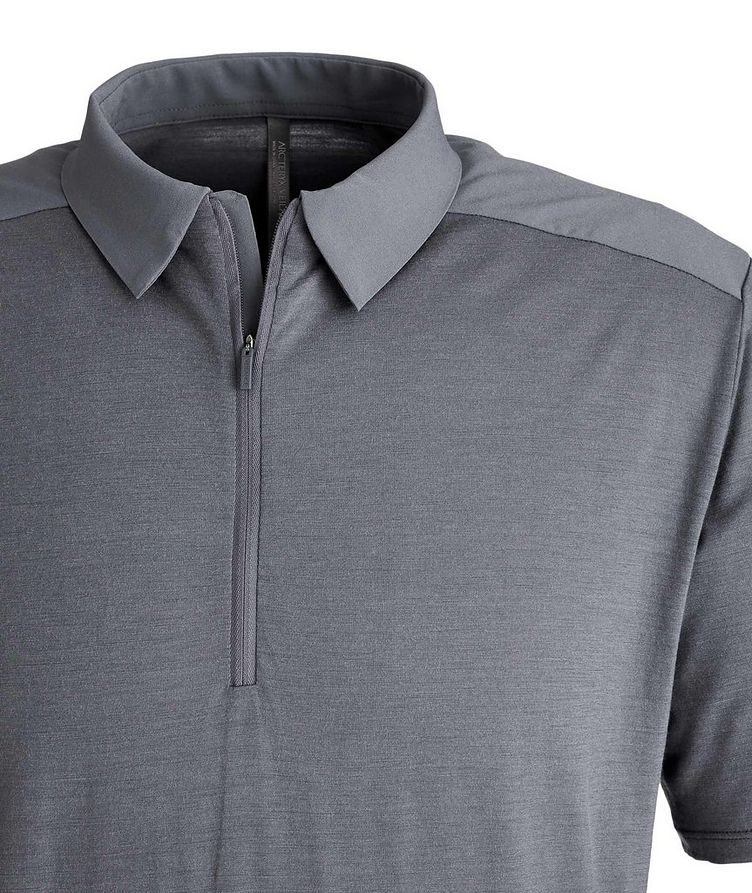 Half-Zip Wool Polo image 2