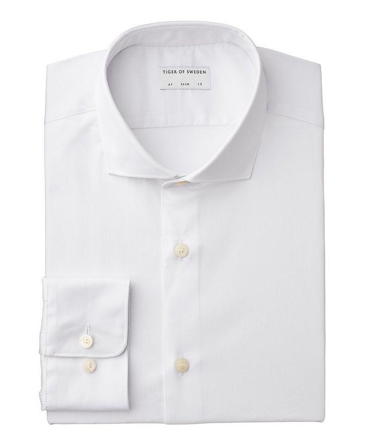 Chemise habillée Farrell en coton extensible de coupe amincie  image 0