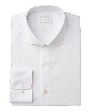 Tiger of Sweden Farrell Slim Fit Stretch-Cotton Dress Shirt