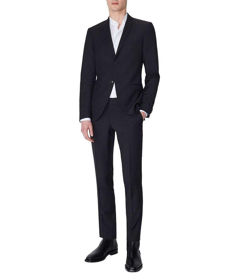 Gordon Slim Fit Wool Dress Pants image 2