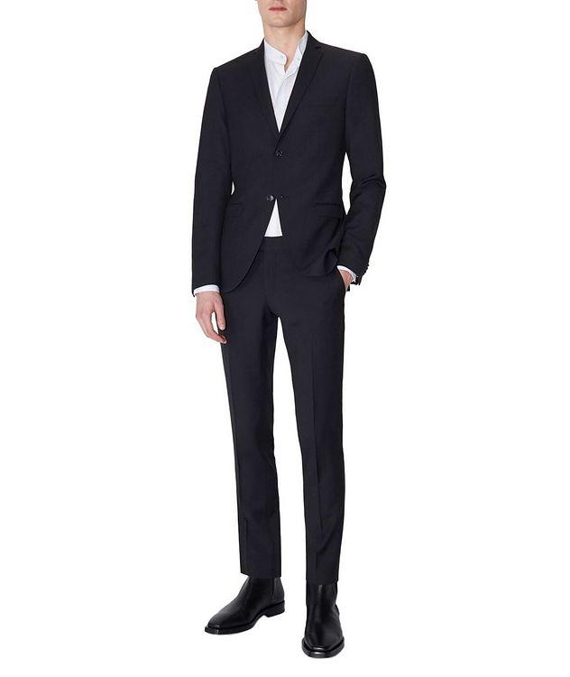Gordon Slim Fit Wool Dress Pants picture 3