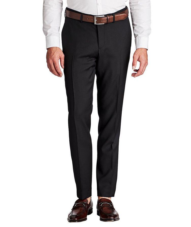 Gordon Slim Fit Wool Dress Pants image 0