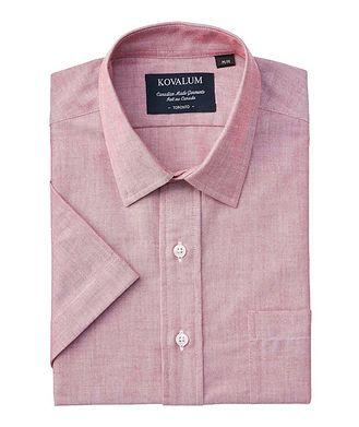 Kovalum Short-Sleeve Cotton Shirt